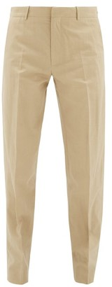 ODYSSEE Cotton-blend Chino Trousers - Beige