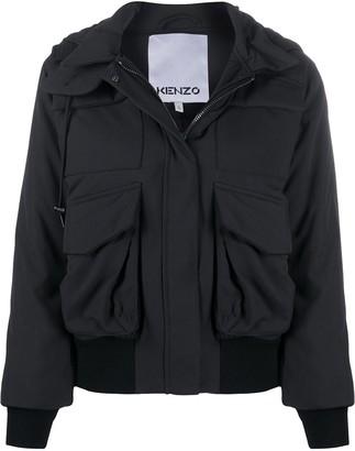 Kenzo Hooded Zip Jacket