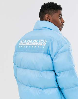 Napapijri Ari puffer jacket in blue