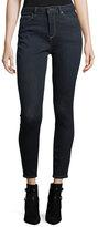 DL1961 Premium Denim Chrissy Trimtone High-Rise Skinny Jeans