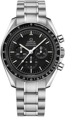 Omega Stainless Steel Speedmaster Moonwatch Chronograph Watch 42mm