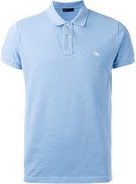 Etro logo patch polo shirt - men - Cotton - L