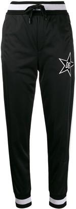 Dolce & Gabbana star track pants