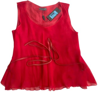 Genny Red Top for Women
