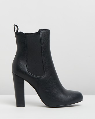 Billini - Women's Black Chelsea Boots - Lillia Ankle Boots - Size 6 at The Iconic