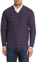 Cutter & Buck Men's Big & Tall Douglas Rhone Wool Blend Sweater