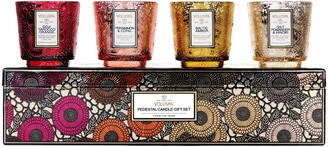 Voluspa Pedestal Warm Tones Gift Set