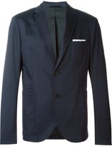Neil Barrett classic casual blazer - men - Cotton/Polyester/Spandex/Elastane/Viscose - 54