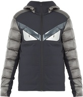 Fendi Bag Bugs quilted-down jacket