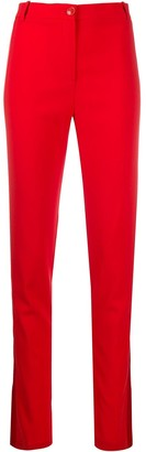 Patrizia Pepe High-Waisted Slim Fit Trousers