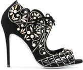 Rene Caovilla embellished open-toe sandals