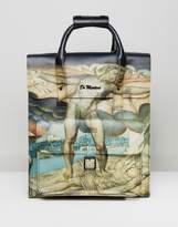 Dr. Martens Leather Backpack William Blake Print
