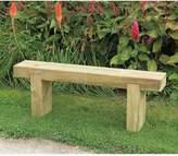 FOREST Garden Sleeper Bench - 1.2m Long
