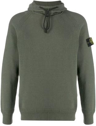 Stone Island Drawcord-Hood Sweater