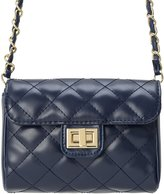 MC M&c Women's | Chain & Leather Strap Quilted Handbag