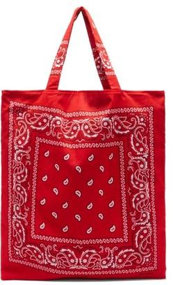 Arizona Love Bandana Cotton Tote Bag - Red