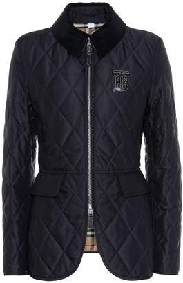 Burberry Quilted twill jacket