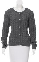 A.P.C. Cable Knit Button-Up Cardigan