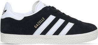 adidas Girls Black Gazelle Suede Trainers, Size: EUR 33 / 1 UK ADULT