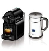 Nespresso Inissia D40 Coffee Machine & Aeroccino Plus Milk Frother