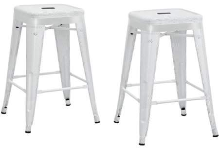 Marvelous Dorel Home Products Nova 24 Metal Mesh Backless Counter Stool Set Of 2 Multiple Colors Gmtry Best Dining Table And Chair Ideas Images Gmtryco