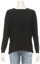 Autumn Cashmere Back Slash Rib Detail Sweater