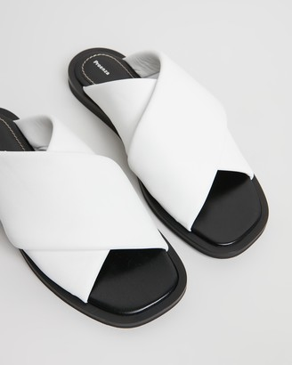 Proenza Schouler Slip-On Cross Slides