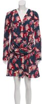 Vanessa Bruno Silk Floral Dress