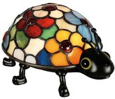 Quoizel Tiffany 1 Light Flowered Lady Bug Accent Lamp [Tools & Home Improvement]