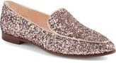 Kate Spade 'calliope' Glitter Almond Toe Loafer (Women)