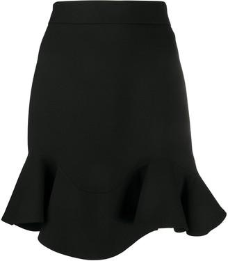 Alexander McQueen Donegal mini skirt