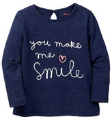 Joe Fresh Embellished Tee (Baby Girls)