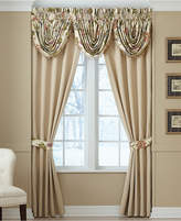 "Croscill Daphne 48"" x 33"" Waterfall Swag Window Valance Bedding"