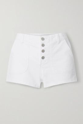 J Brand Nomey Denim Shorts - White