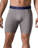 Champion Men's Underwear Performance Cotton Long Boxer Brief 3-Pack