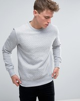 French Connection Crew Neck Polka Sweat Jumper