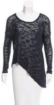 Helmut Lang Silk Open Knit Sweater