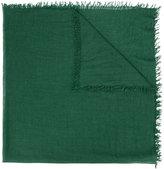 Faliero Sarti frayed scarf - women - Silk/Cashmere - One Size