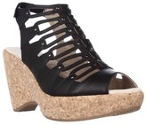 Jambu Lillian Strappy Wedge Sandals, Black.