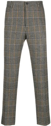 Dolce & Gabbana Glen plaid tailored trousers