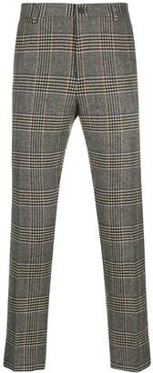 Dolce & Gabbana Glen plaid tailored trousers