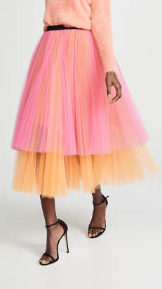 Novis Fay Pleated Evening Skirt