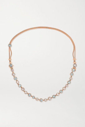 Selim Mouzannar Beirut Basic 18-karat Rose Gold Multi-stone Necklace - one size