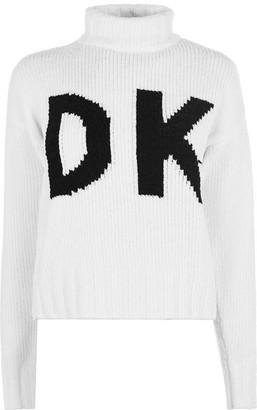 DKNY Wrap Logo Jumper