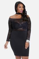 Fashion to Figure Leopard Print Burnout Bodycon Dress
