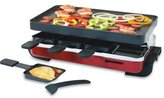 Swissmar Nonstick Classic Raclette Party Grill, Red