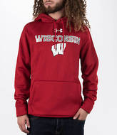 Under Armour Men's Wisconsin Badgers College Poly Fleece Hoodie