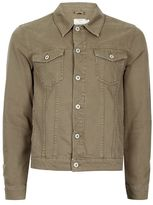 Topman Khaki Denim Jacket