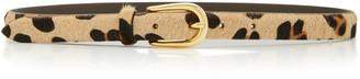 Andersons Animal-Print Leather Belt