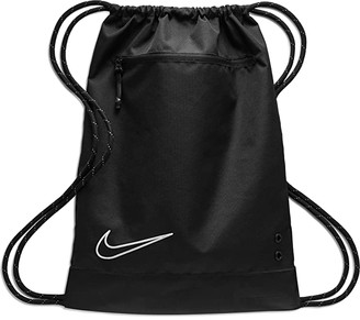 Nike Elite Gym Sack (Black/Black/White) Backpack Bags